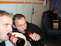 Train Beer to Airport